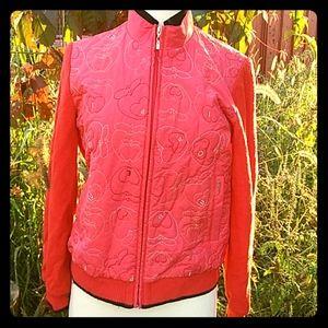 Jackets & Blazers - ⛳ GOLFING JACKET Red Sporty Coat SGF Small
